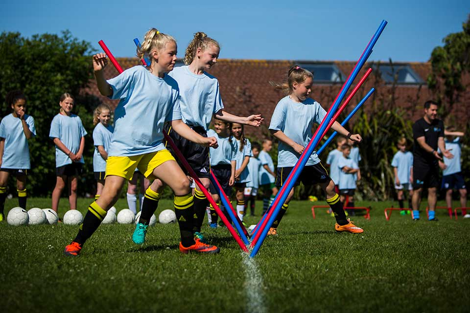 Girls Only Football Taster Day